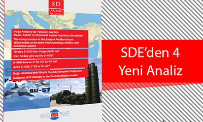 SDE'den 4 Yeni Analiz - 4 New Analysis